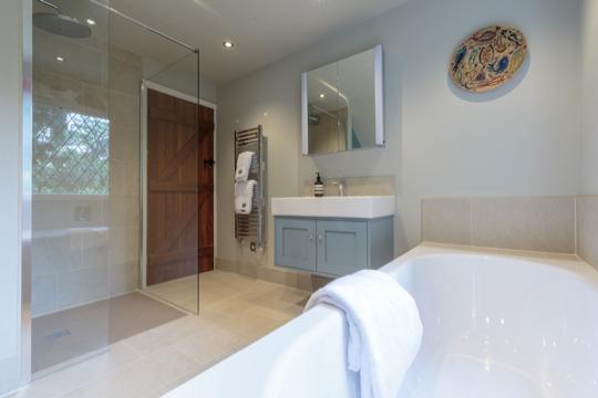 Large Contemporary Surrey Bathroom Design Installation Jeremy Colson Bathrooms Surrey