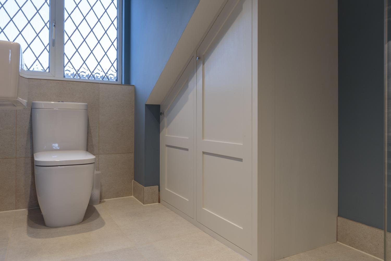 Surrey family shower room design installation jeremy for Bathroom design surrey