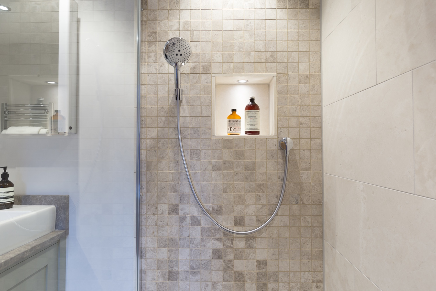 Mosaic Shower Room Design Installation Jeremy Colson Bathrooms
