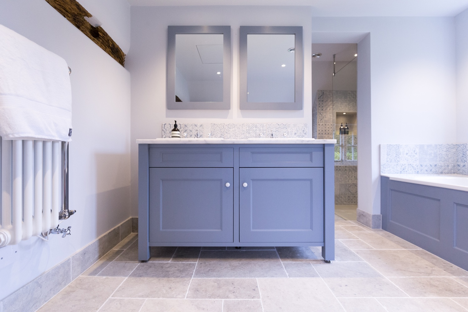 Jeremy colson bathrooms surrey for Pre manufactured cabinets