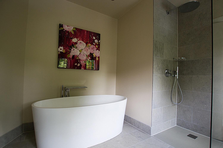 Contemporary haslemere bathroom design installation for Bathroom design surrey