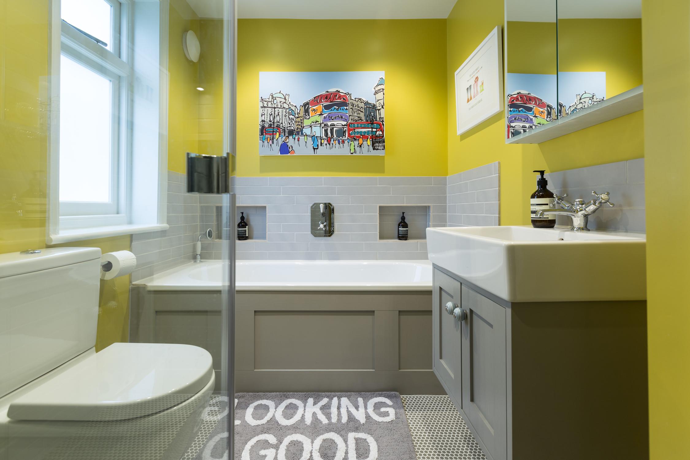 Modern Family Wet Room Design Installation Jeremy Colson Bathrooms Surrey