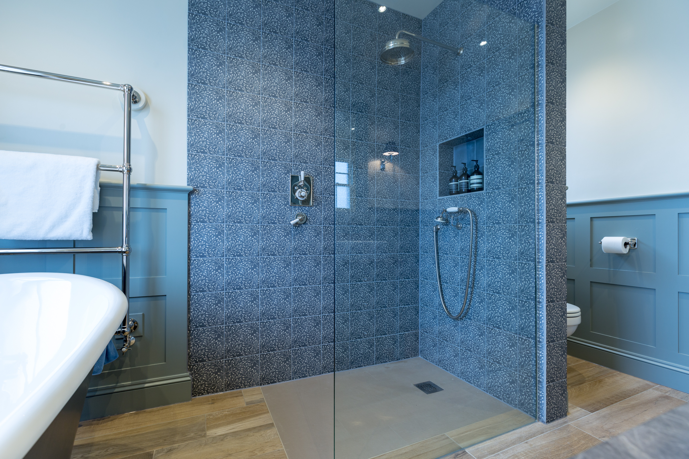 Rustic Family Wet Room Design & Installation | Jeremy Colson ...